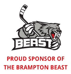 Proud Sponsor of the Brampton Beast