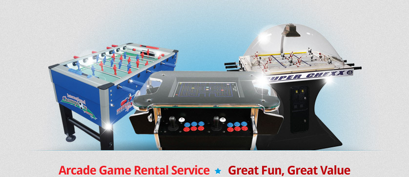 Arcade Game Rental Service • Great Fun, Great Value